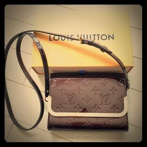 ✨Louis Vuitton Amarante Vernis Rossmore Bag✨